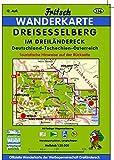 Dreisesselberg Im Dreiländereck Deutschland - Tschechien - Österreich: Philippsreut - Haidmühle - Neureichenau - Grainet (Fritsch Wanderkarten 1:35000)